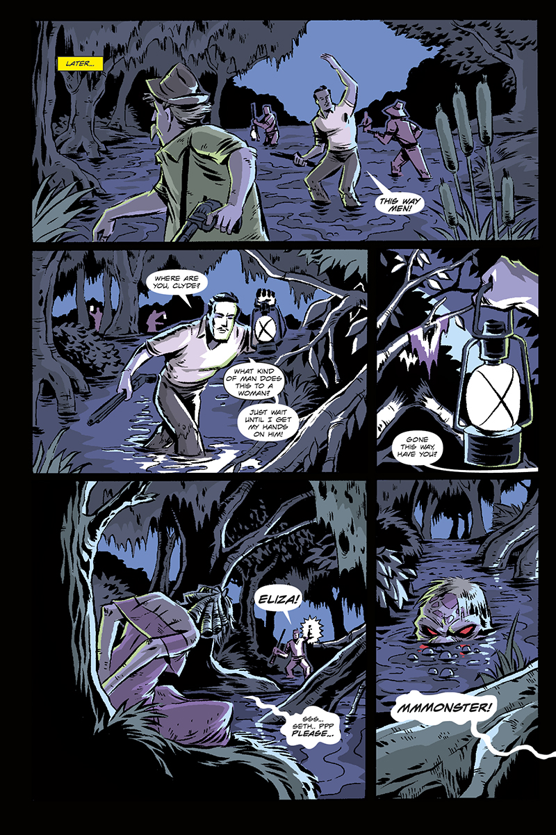 The Monster of Magnolia Marshes | Page 14