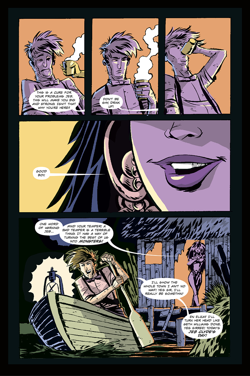 The Monster of Magnolia Marshes | Page 10